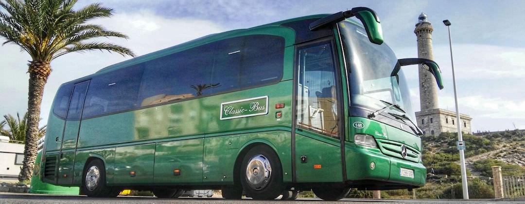 Autobuses Premium Class en Madrid