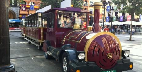 Tren Turistico en Toledo