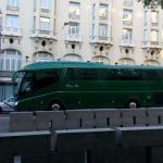 Classic bus Hotel Palace Madrid