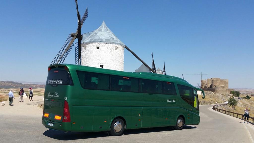 Classic bus la mancha