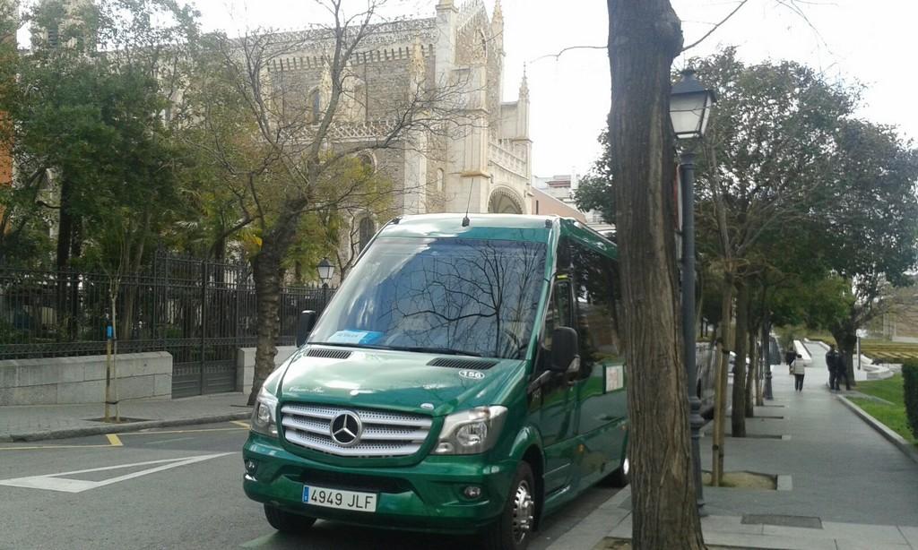 Autobus classic bus madrid centro2