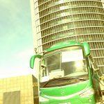 Autobus classic bus madrid torre