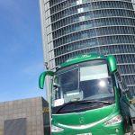 Autobus classic bus madrid torre1
