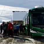 Autobus classic bus nieve4
