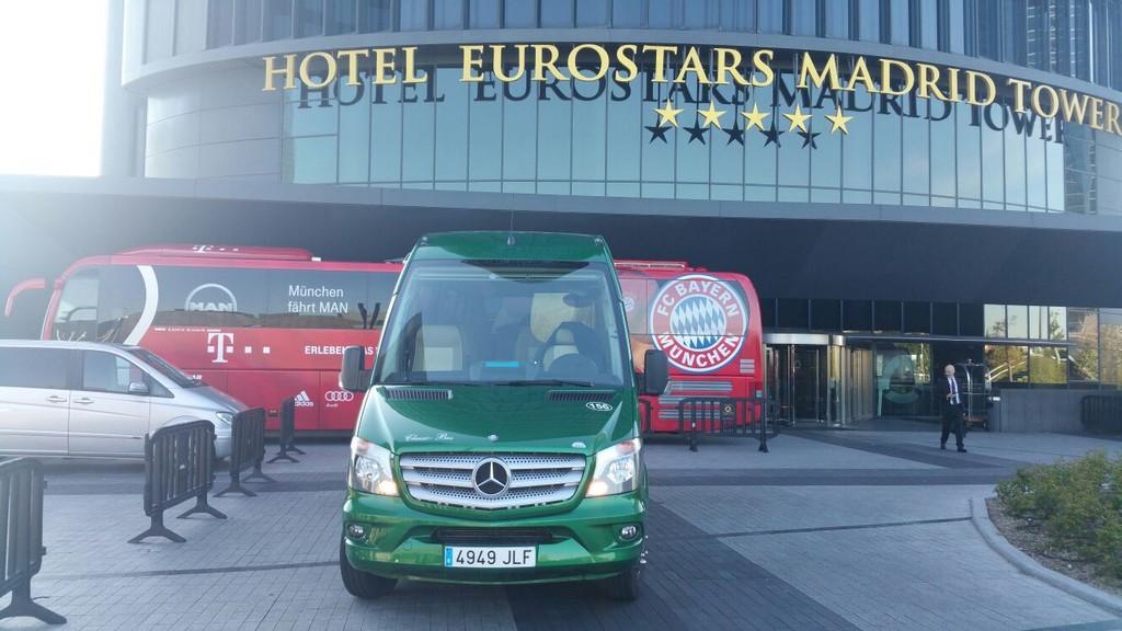 Transfer Eurostars hotel aeropuerto Madrid