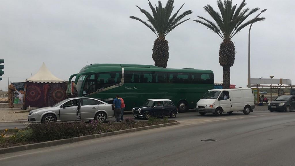 Classic bus mercado playero