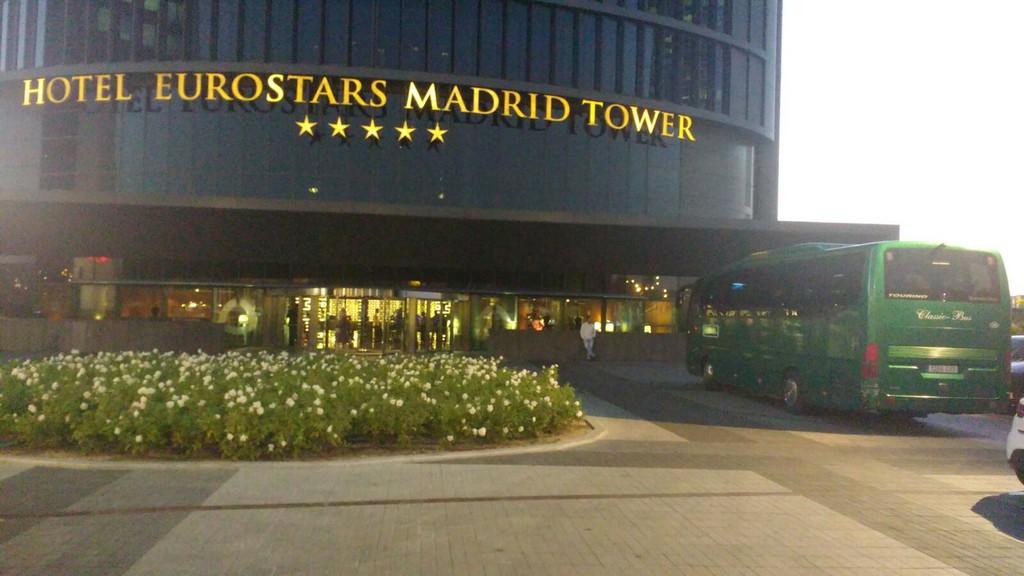 Hotel Eurostar Madrid Classi Bus