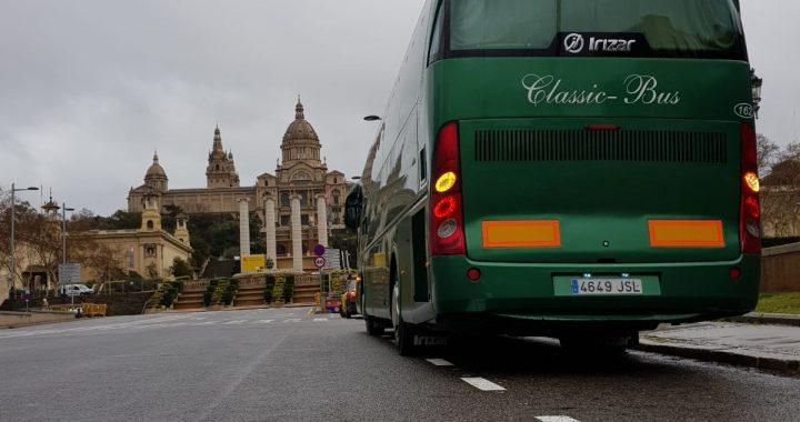 Classic Bus Barcelona Montjuich