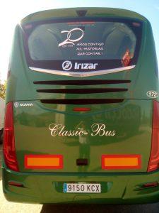 20 aniversario Classic Bus trasera