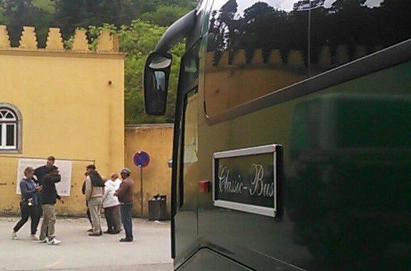 Classic Bus Castillo Sintra Portugal