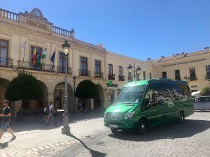 Classic Bus minibus Ronda Malaga