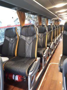 asientos autobuses de lujo