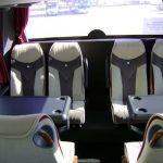 mesas de autobus