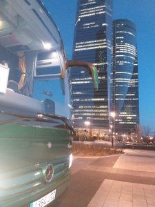 Classic Bus Madrid torres Castellana Norte