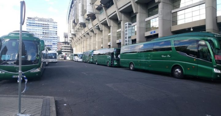autobuses Classic Bus Santiago Bernabeu
