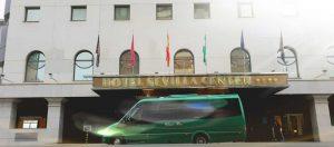minibus hotel Sevilla Center Classic Bus