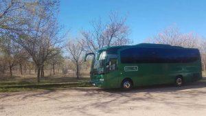 Classic Bus En El Campo