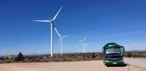 Classis Bus parque eolico