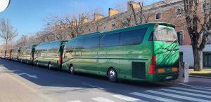 Procesion autobuses Classis Bus