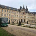Classic Bus Abadia De Los Hombres De Caen Francia