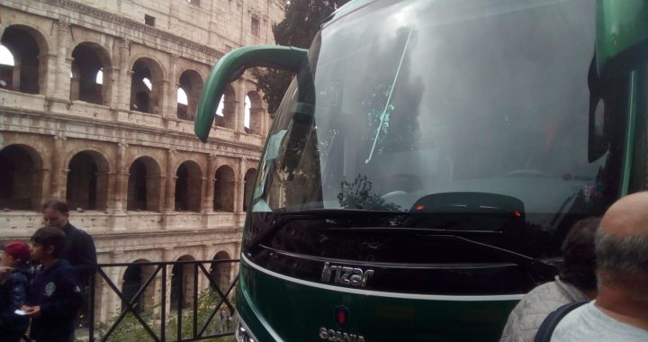 Classic Bus Circo Roma Italia
