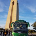 Classic Bus Cristo De Almada Lisboa Portugal