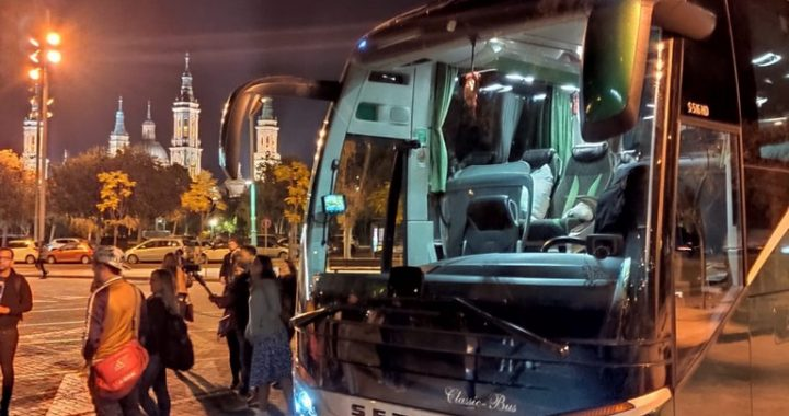 Classic Bus Pilar Zaragoza Nocturno
