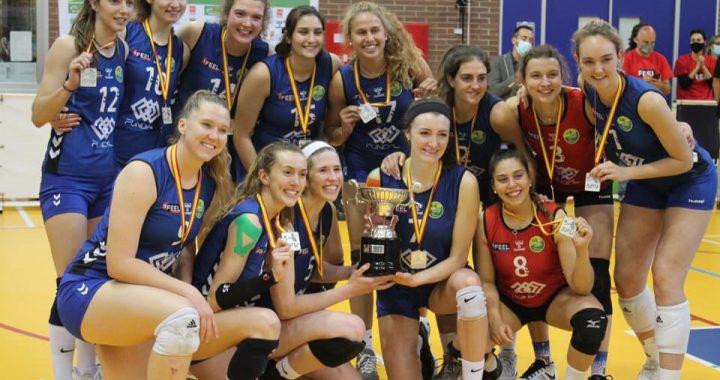 Club Voleibol Alcobendas Subcampeonas Superliga Iberdrola 2020 21